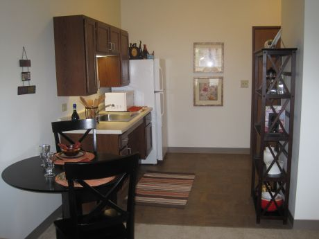 Oak hill supportive living model apartment homes now open for Living in a model apartment