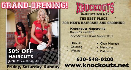 Hair Salon Grand Opening Flyer http://www.triblocal.com/aurora/community/stories/2011/06/knockouts-haircvuts-for-men-grand-opening/