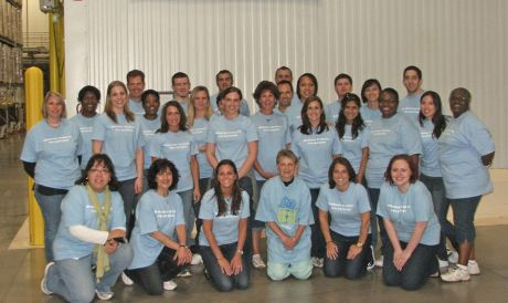 Employees from Morgan Stanley Smith Barney's Barrington