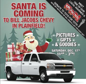 santa visits bill jacobs chevy in plainfield bolingbrook news photos and. Cars Review. Best American Auto & Cars Review