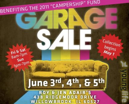 Hinsdale South Young Life Garage Sale — Burr Ridge