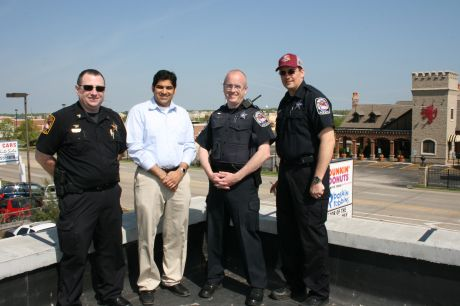 Rooftop Cops Raise Funds For Special Olympics Crystal