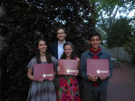 Kingswood Academy Students Win Knights of Columbus Essay Contest ...
