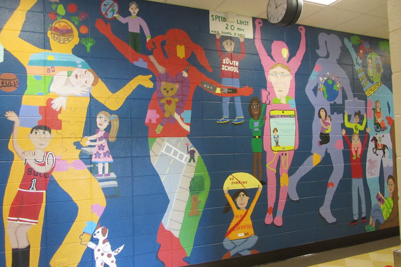 image gallery student mural