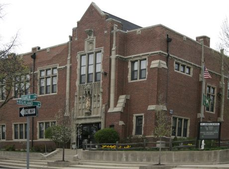 St. Joseph School celebrates its Centennial year with a rededication.