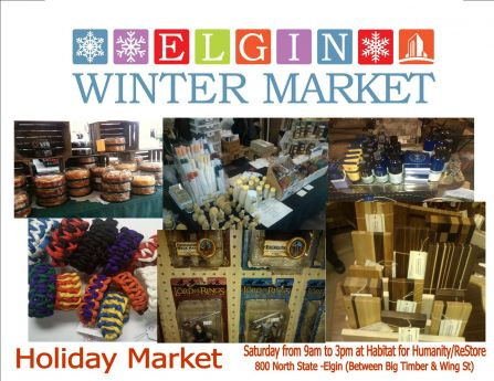 Holidays At The Elgin Winter Market Elgin News Photos And Events