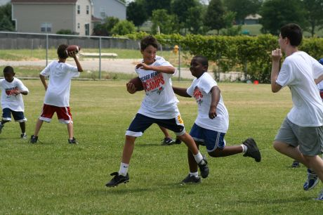 chicago bears youth camps