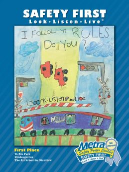 Students from the Art School in Glenview Win Fifth Annual Metra Safety ...