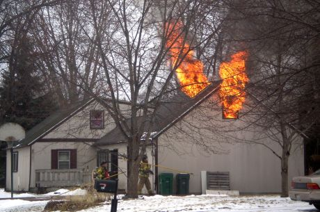 Investigators Are Still Trying To Determine What Caused A Fire To Break Out  In The Above Garage Bedroom Of A Gurnee Home Thursday Afternoon, Said Fire  Chief ...