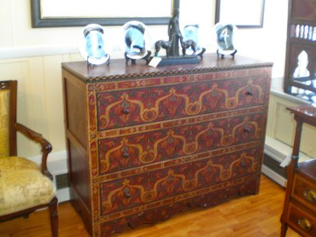 Tibetan Chest Of Drawers