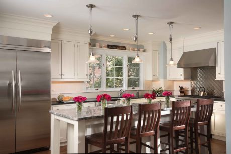 The kitchen has always been the heart of the home, but today's lifestyles  combine the kitchen, breakfast area and living room into one large  multifunctional ...