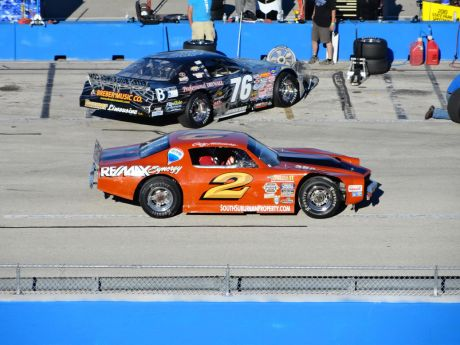 Stock  Auto Racing on Max Synergy Camaro Wins The Milwaukee Mile Vintage Stock Car Feature