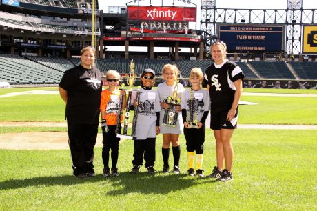 Joliet girl wins white sox academy champions day at us cellular 1284586423be17g sciox Choice Image