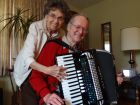 JoAnne and Art Mackay's love of the accordion helped them find love again. (Mary Owen/Tribune)