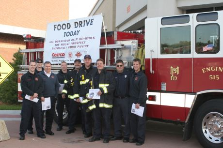 Costco Mount Prospect >> Mount Prospect Firefighters Conduct Food Drive and Stock ...