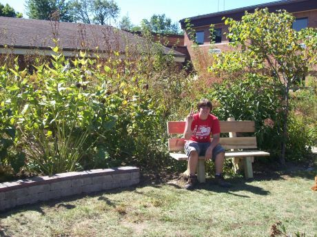 Eagle Scout Reading Garden Project Naperville News Photos And Events