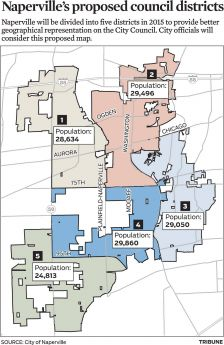 Proposed voting districts accepted so far Naperville news