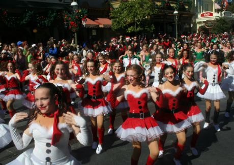 eighteen dancers from northbrooks danced dance centre danced at disney worlds magic kingdom performing for
