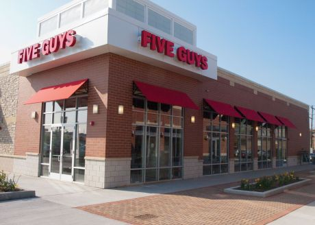Five Guys Burgers And Fries Is The Sixth And Final Grand Opening At The New Berwyn