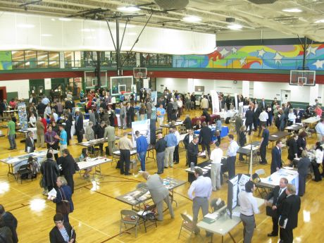 Nearly 1 000 Attend Job Fair In Park Ridge Park Ridge News Photos And Events