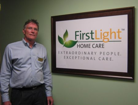 Brian Foster, Owner Of FirstLight HomeCare In Plainfield