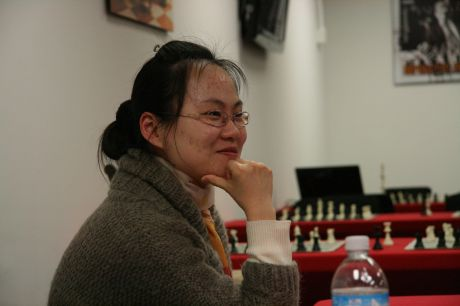 Chess World Champion Ruan Lufei shares her deep insights with a Skokie audience.