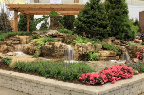 Genial Aquascape Creates Garden At Chicago Flower And Garden Show