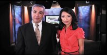 Comcast Newsmakers hosts Paul Lisnek and Ellee Pai Hong