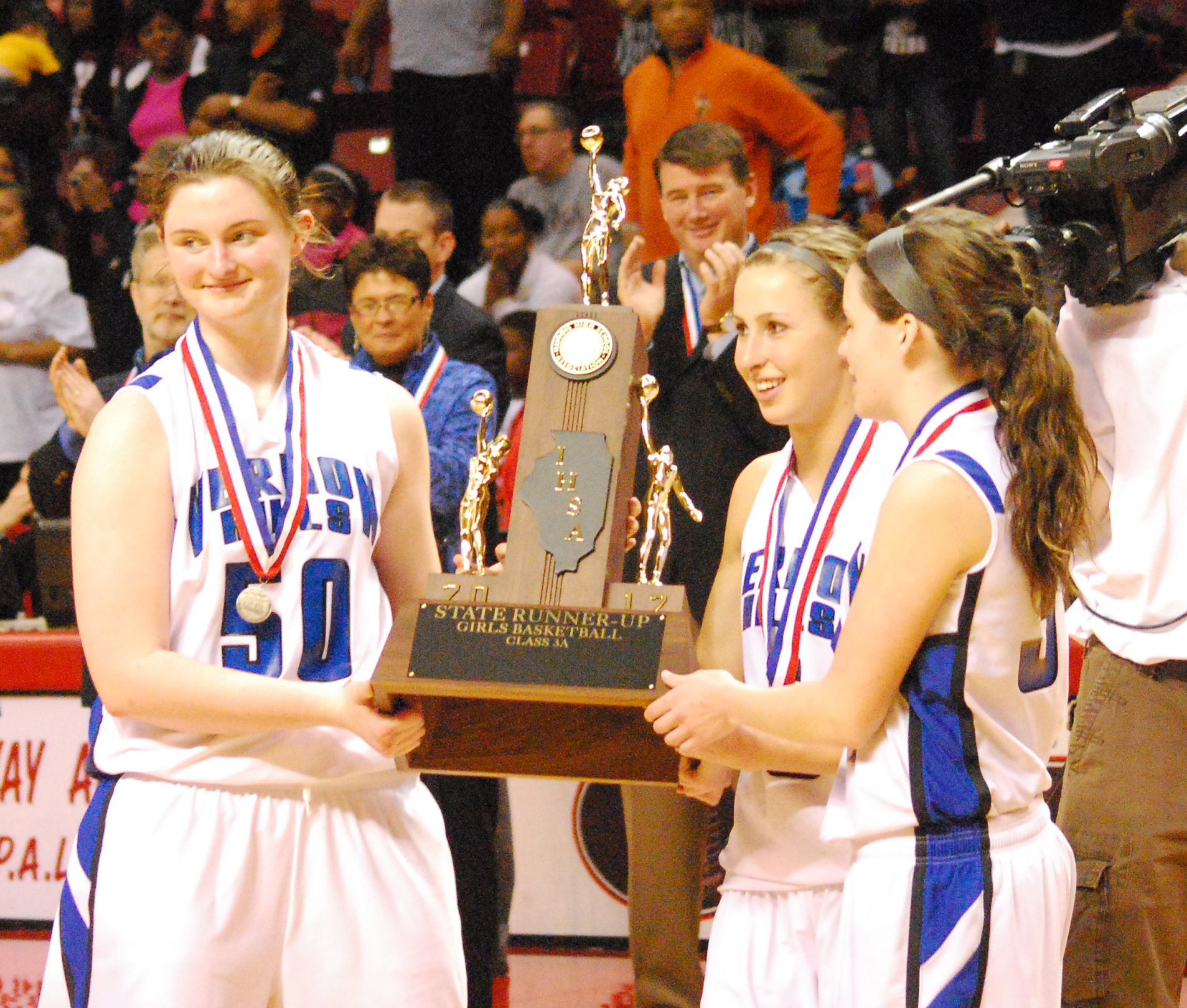 Vernon HIlls' girls basketball team never won a regional title until this  year and the Cougars finished second in the state in Class 3A.