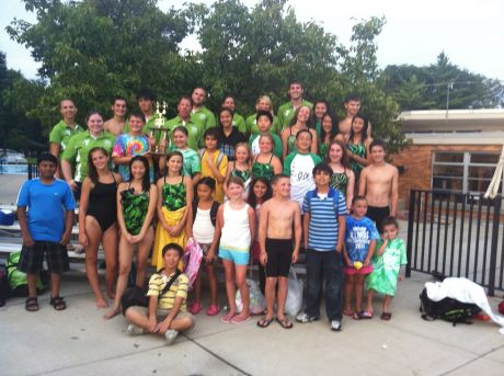 The Lake County Family YMCA Central Lake swim team has accomplished a first ...