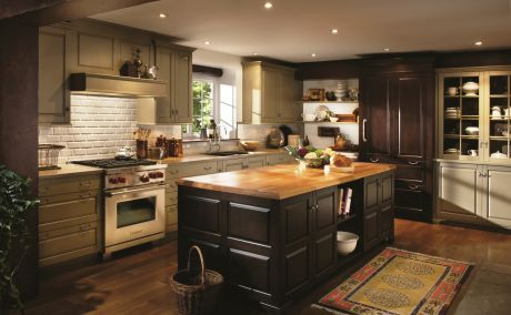 a kitchen designer can help you create a specially themed kitchen such as this stonehill - Themed Kitchen Design