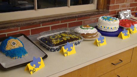 Blue and Gold Cub Scout Cake Ideas