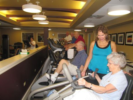 Senior Uprising in Wheaton: Exercise Mind and Body During National ...