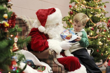 Donuts with Santa Claus — Wheaton news, photos and events ...
