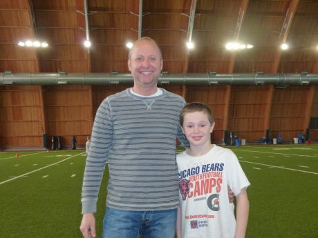 Discount Wheaton's Colin Malec Honored as Chicago Bears Youth Football Camp  hot sale