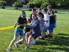 Students at Bentley School in New Lenox engage in a boisterous tug of war competition. Photo submitted by New Lenox School District 122.