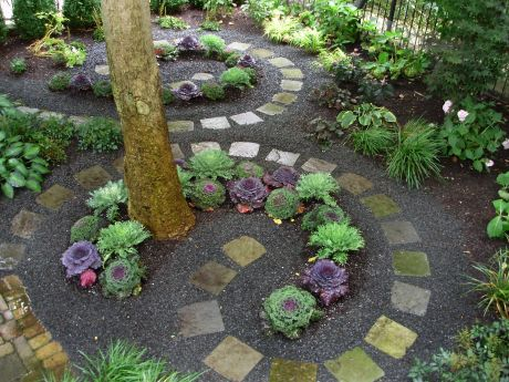 Create Separate Es In Your Garden By Using Pavers Plants Shrubs And Structures